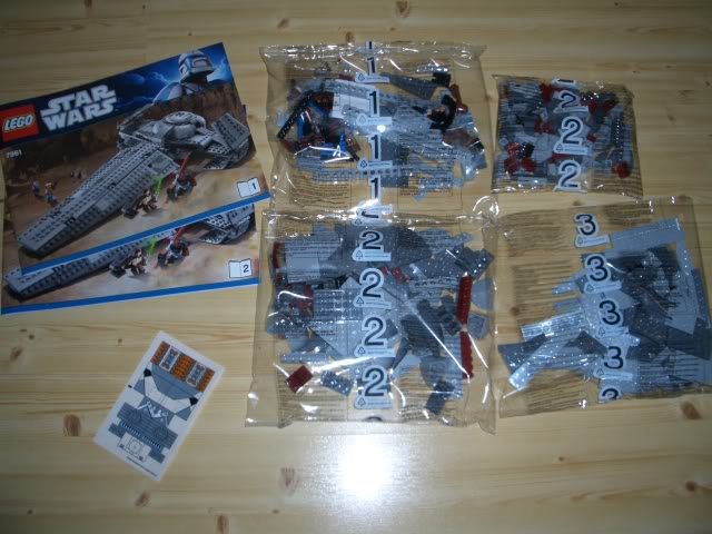 LEGO STAR WARS - 7961 - Darth Maul Sith Infiltrator  User4611