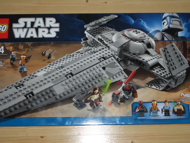LEGO STAR WARS - 7961 - Darth Maul Sith Infiltrator  User4616