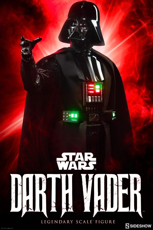 Sideshow - Darth Vader  Legendary Scale Figure Vader_10