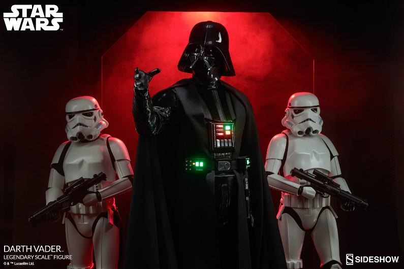 Sideshow - Darth Vader  Legendary Scale Figure Vader_15