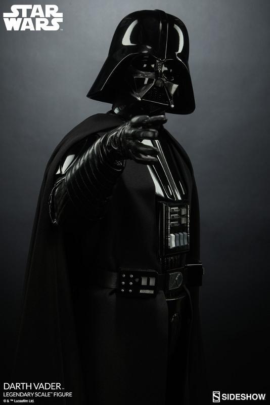 Sideshow - Darth Vader  Legendary Scale Figure Vader_18
