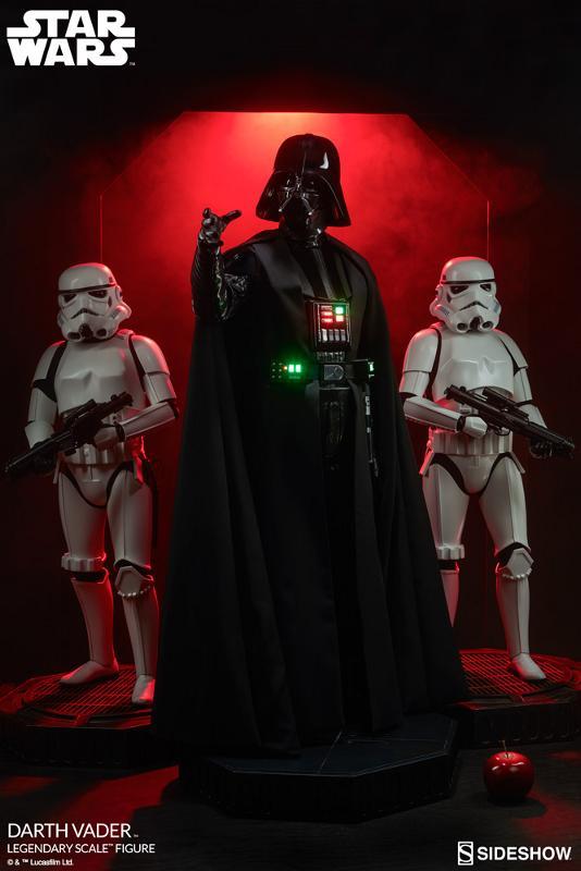 Sideshow - Darth Vader  Legendary Scale Figure Vader_21