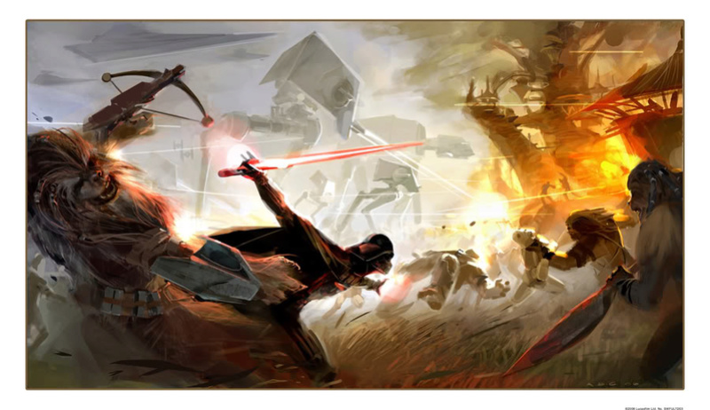 ACME Archives - Star Wars Force Unleashed Vader On Kashyyyk Vader_22