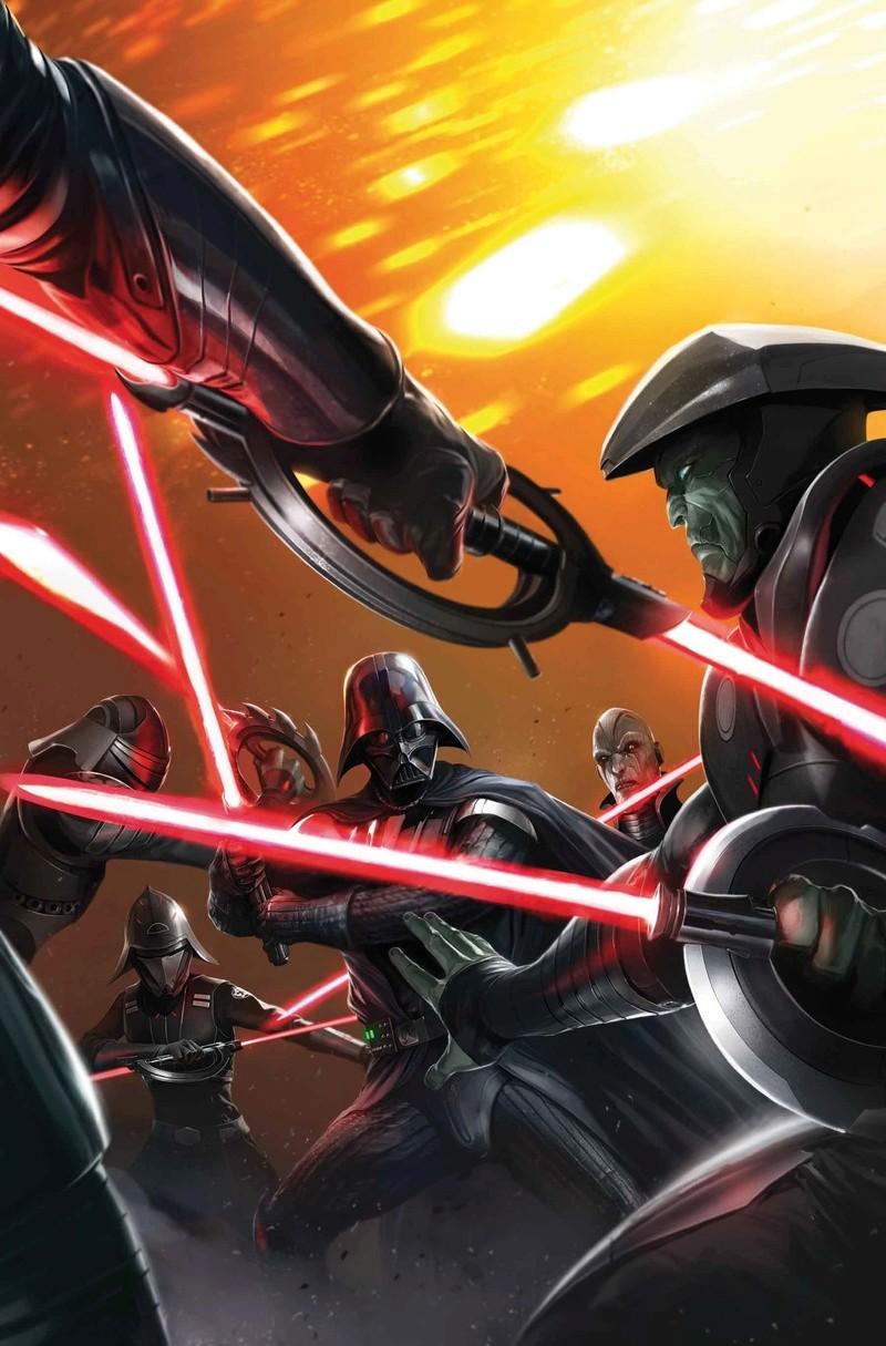 Marvel Comics US - DARTH VADER: DARK LORD OF THE SITH Vader_27
