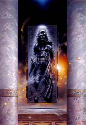 Star Wars - Tsuneo Sanda - Leia, Vador et les autres - Page 2 Vaderc10