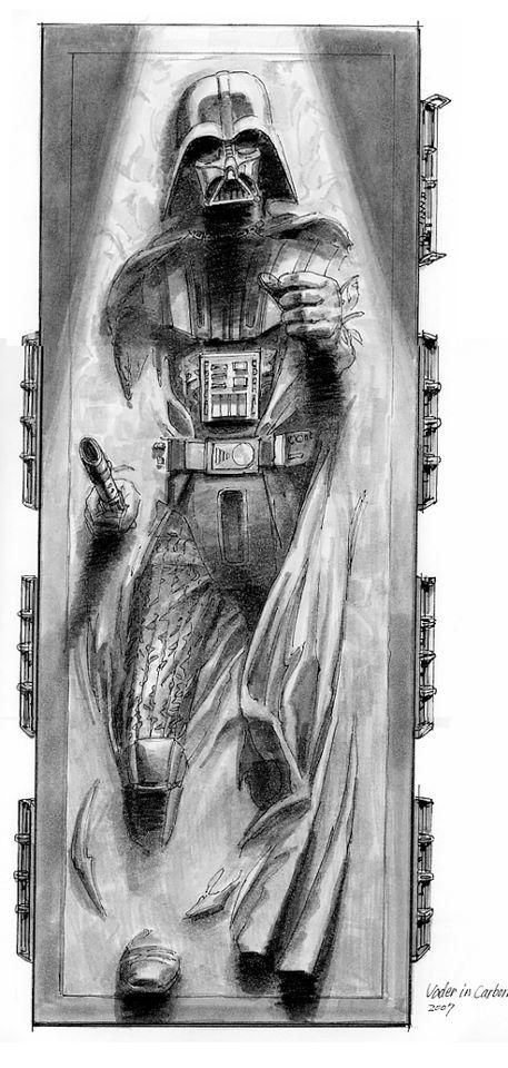 Star Wars - Tsuneo Sanda - Leia, Vador et les autres - Page 2 Vaderc11
