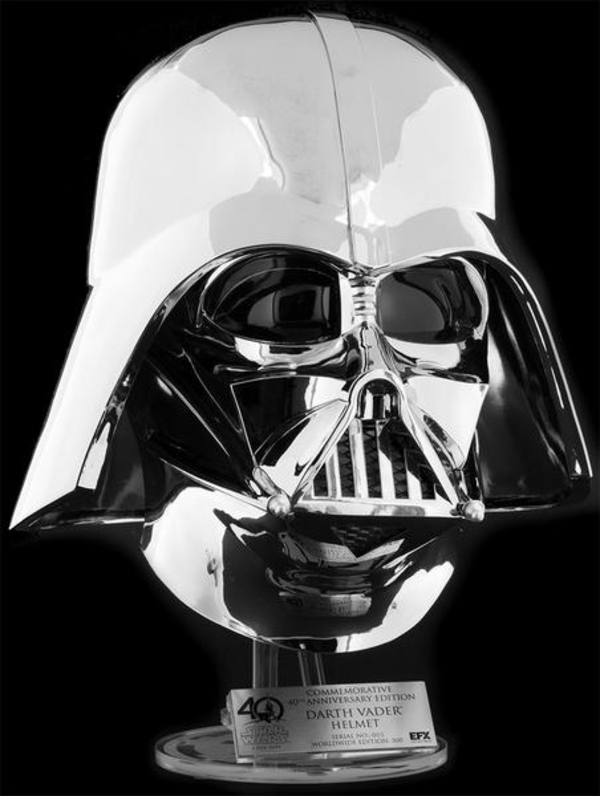 EFX Collectibles Exclusive Chrome Darth Vader Helmet Vador_12