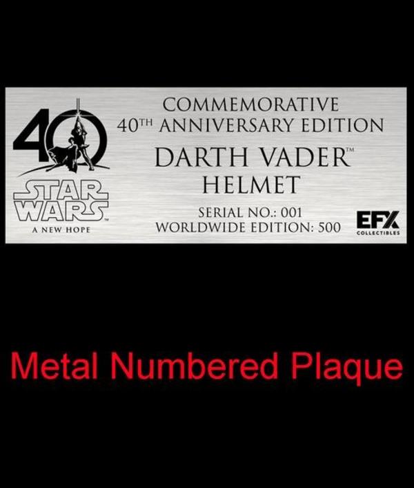 EFX Collectibles Exclusive Chrome Darth Vader Helmet Vador_15