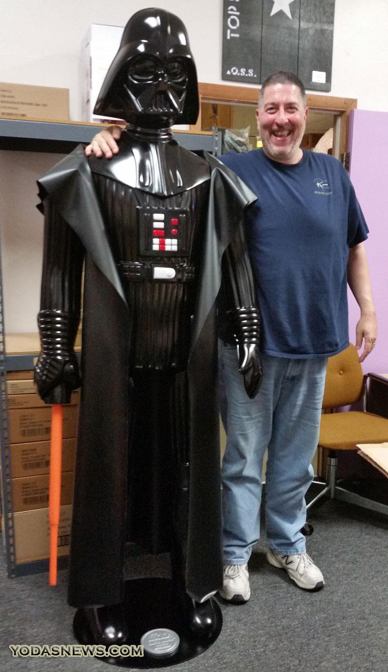 Gentle giant - Darth Vader Life Size Vintage Monument Vadorm12