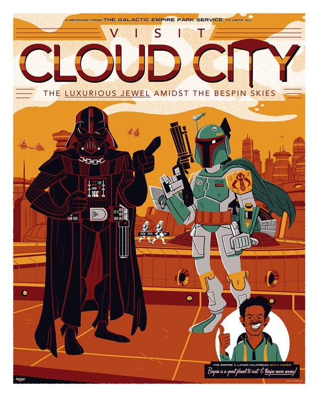 Artwork Star Wars - ACME - Visit Cloud City Visit_10