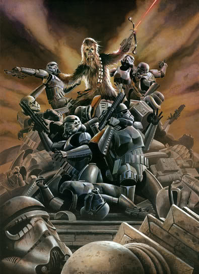 Artwork Star Wars - ACME - Wookiee Rage Wookie10