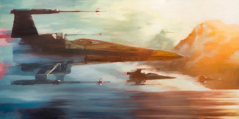 Artwork Star Wars - ACME - X-Wings of Resistance X-wing12