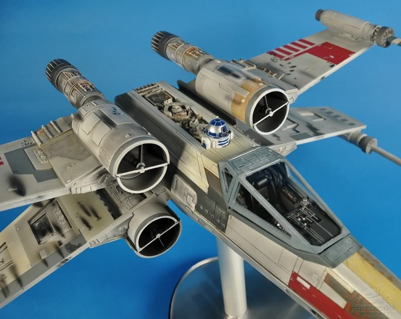 Efx -  luke skywalker red 5 X-wing Xwing-26
