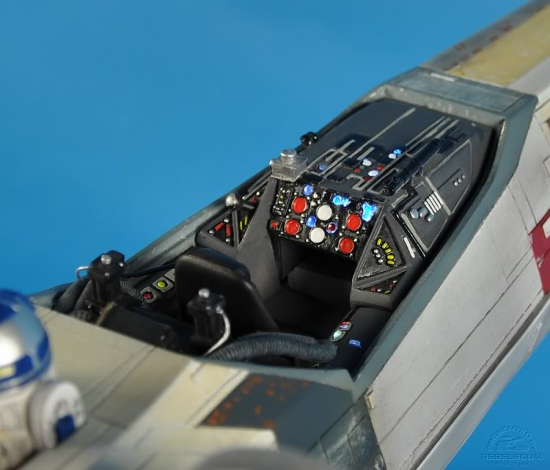 Efx -  luke skywalker red 5 X-wing Xwing-28