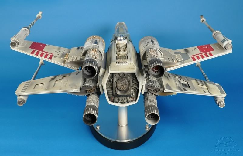Efx -  luke skywalker red 5 X-wing Xwing-29