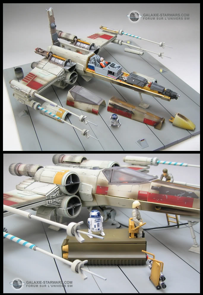 Diorama X-wing du nouveau ! - Page 4 Xwing210