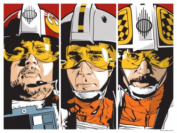 Artwork Star Wars - ACME - X-Wing Jockeys Xwingj10