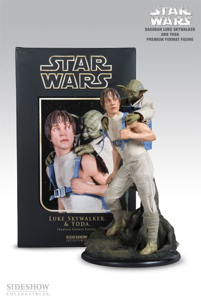 Luke & Yoda - Dagobah Training 1/4 Premium Exclu Edition Yo210