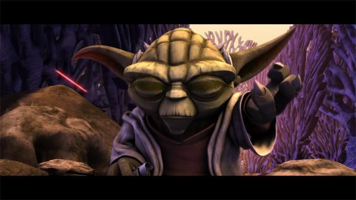 THE CLONE WARS - LES HEROS DE LA REPUBLIQUE Yoda0110