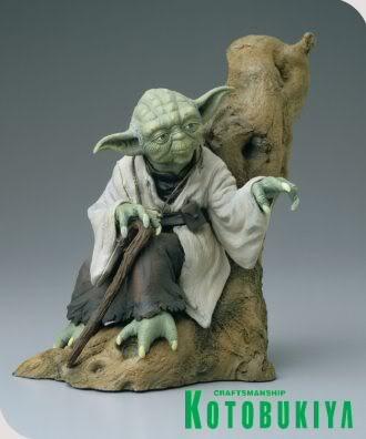 Kotobukiya - Yoda ARTFX Statue Yoda_310