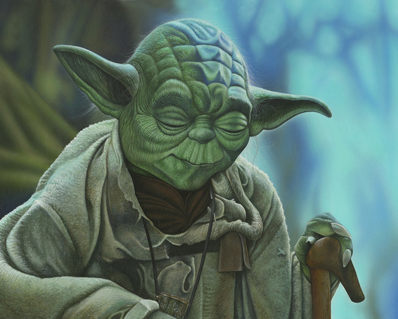 Artwork Star Wars - ACME - Yoda  Yoda_z10