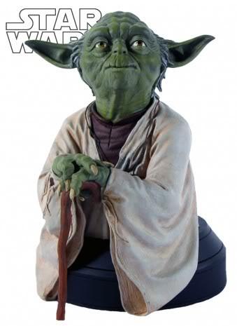 Yoda ESB Mini bust Yodaes10