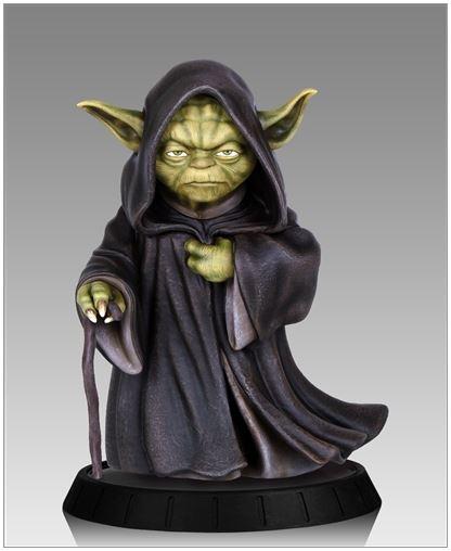 Gentle Giant - Yoda Hoth Statue Yodaho10