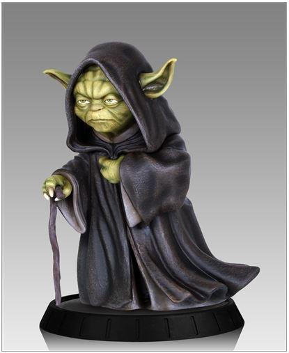Gentle Giant - Yoda Hoth Statue Yodaho11