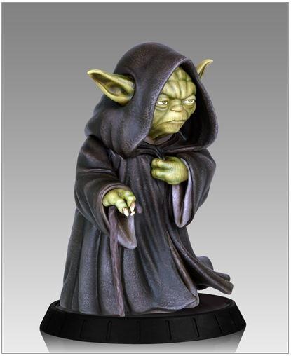 Gentle Giant - Yoda Hoth Statue Yodaho15