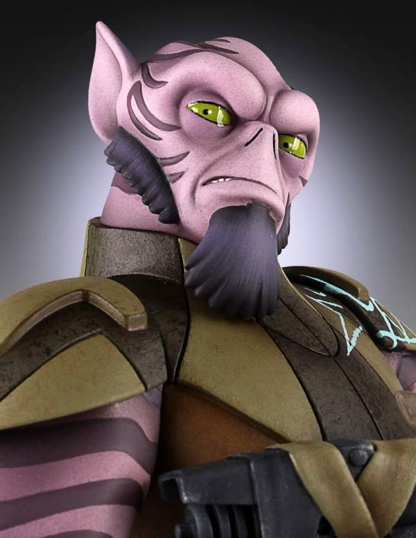 Gentle Giant - Star Wars Rebels - Zeb Maquette Zed03_10