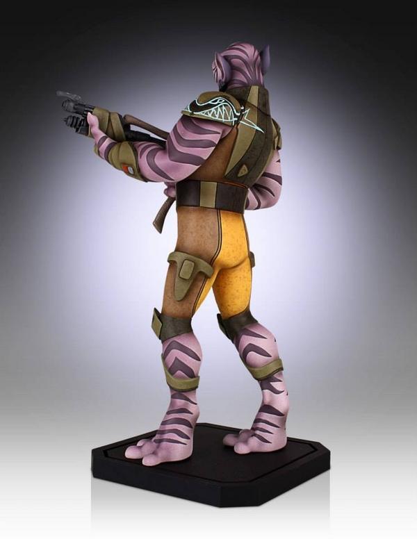 Gentle Giant - Star Wars Rebels - Zeb Maquette Zed05_10