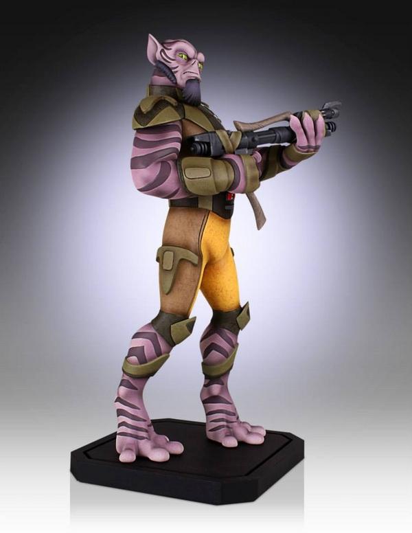 Gentle Giant - Star Wars Rebels - Zeb Maquette Zed06_10