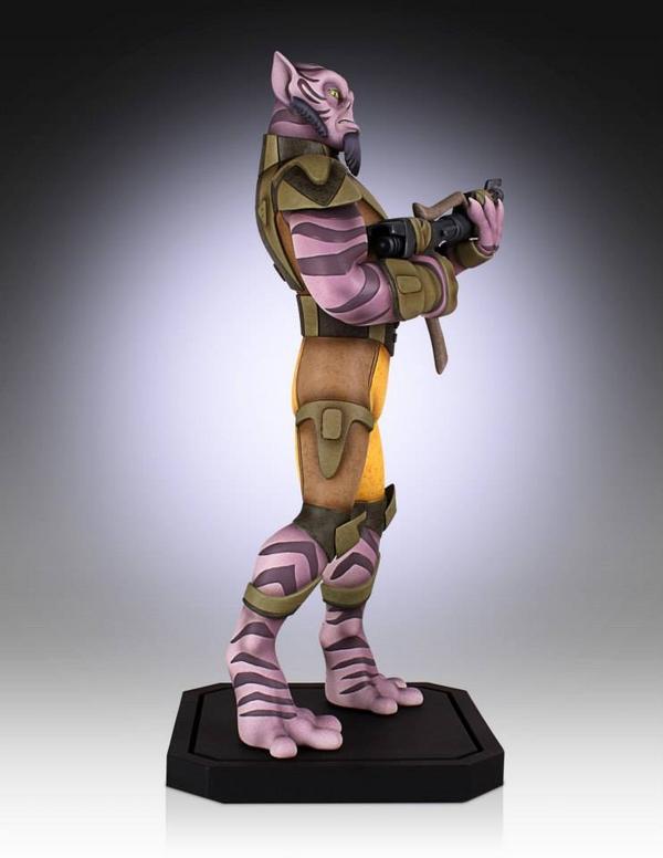 Gentle Giant - Star Wars Rebels - Zeb Maquette Zed08_10