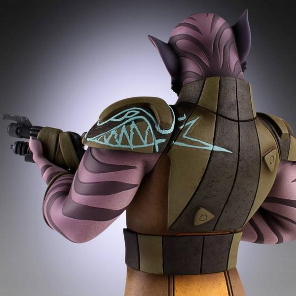 Gentle Giant - Star Wars Rebels - Zeb Maquette Zed11_10