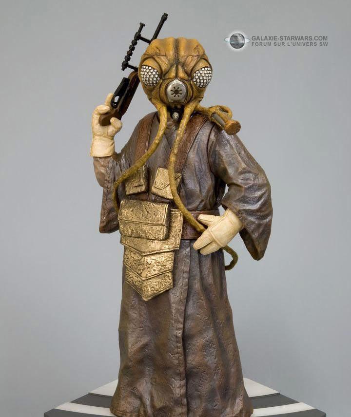 Kotobukiya - Zuckuss ARTFX Statue Zuck10
