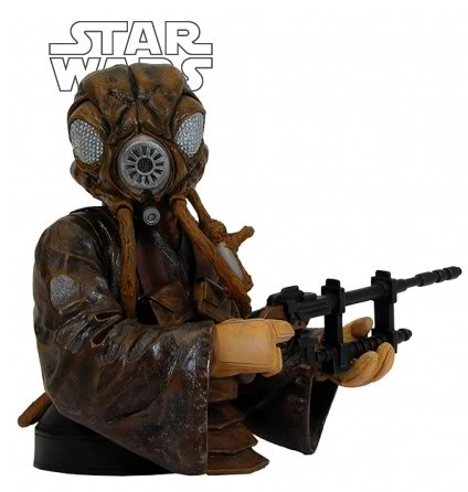 Gentle Giant - Zuckuss - Mini bust Zuckus10
