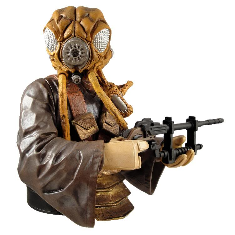 Gentle Giant - Zuckuss - Mini bust Zuckus11