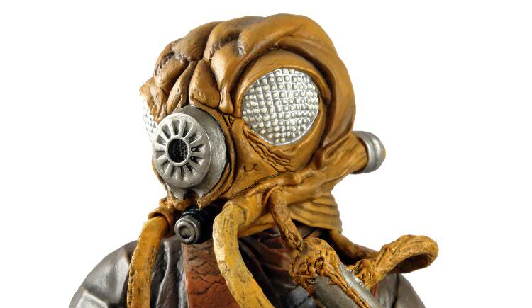 Gentle Giant - Zuckuss - Mini bust Zuckus13
