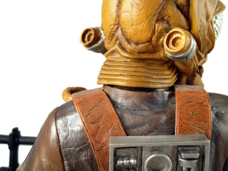 Gentle Giant - Zuckuss - Mini bust Zuckus16