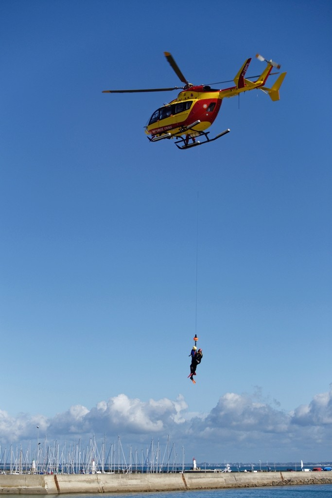 Exercice d'hélitreuillage et récupération jet ski ! Dsc_0150