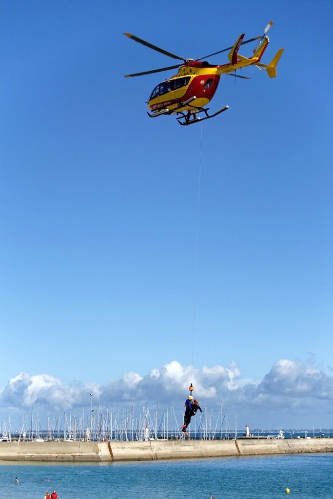 Exercice d'hélitreuillage et récupération jet ski ! Dsc_0152