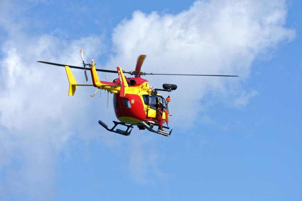 Exercice d'hélitreuillage et récupération jet ski ! Dsc_0212