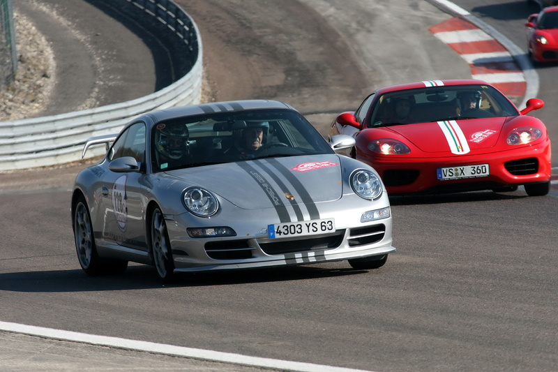 ...et à part Porsche, vous avez eu quelles autos? Rallye10