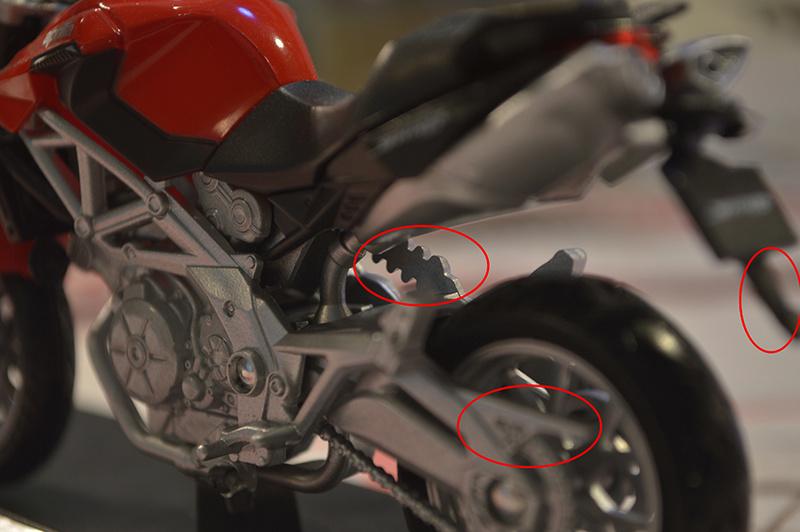 [Moto] Conversion et kit de maquette Shiver34