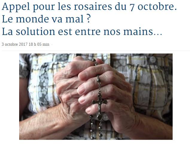 Rosaire mondiale le sept octobre Rosair10