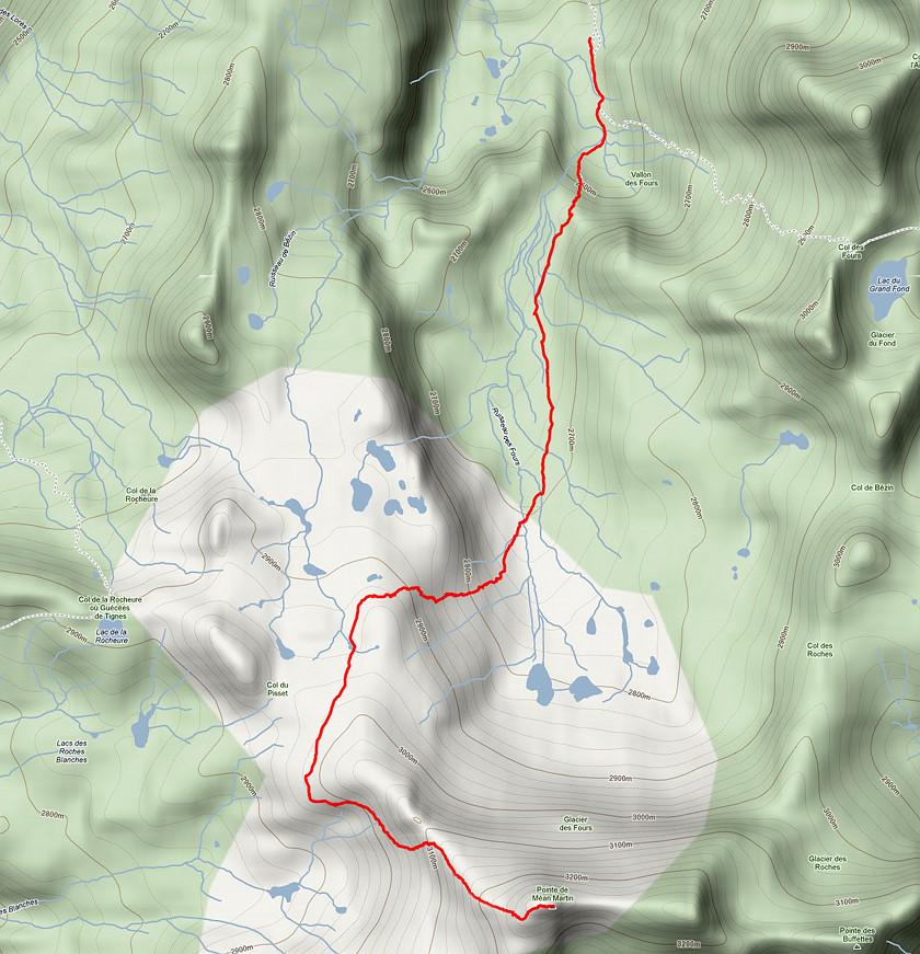 Pointe de Méan-Martin Carte10