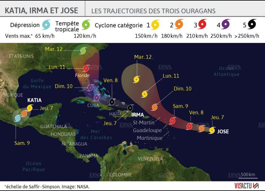 Ouragan Irma au dessus du Cap Canaveral Aaa24