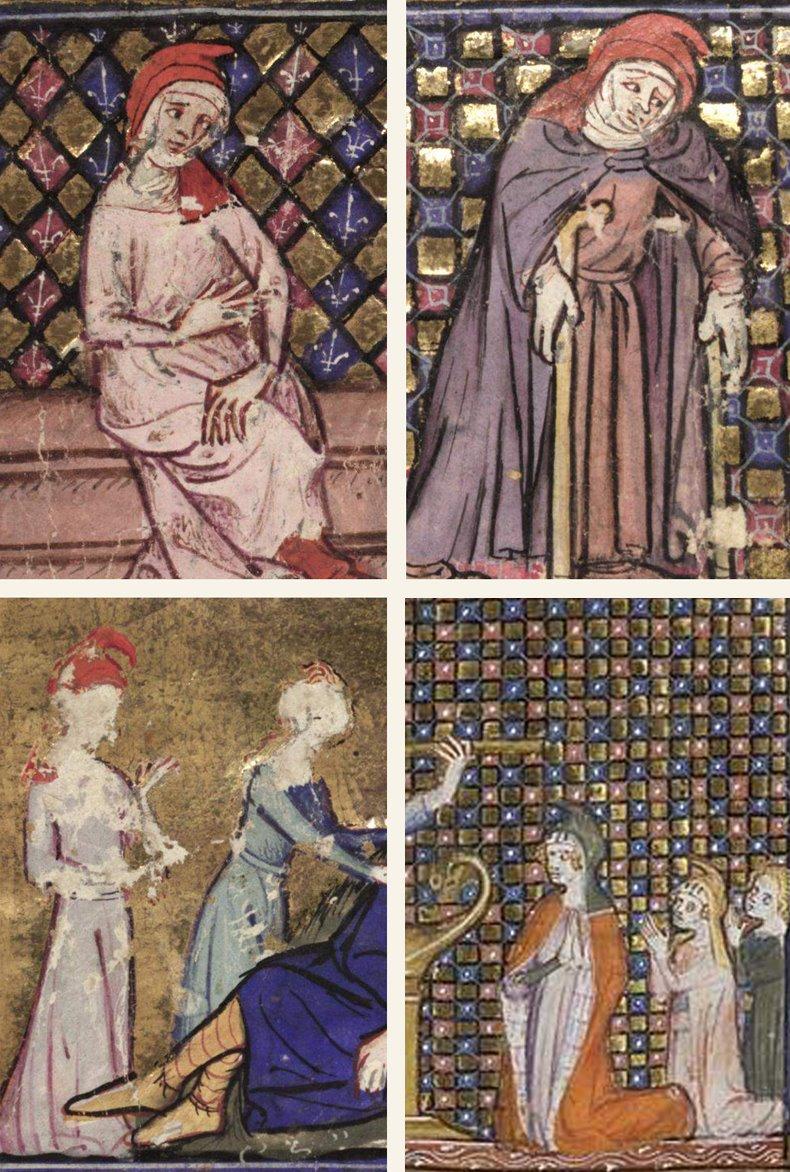 représentations de manteau mantel féminin et ou capes 1348_r10