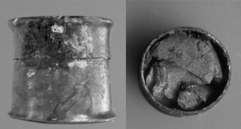 Un collyre pour les yeux vieux de 2.150 ans retrouvé dans une épave ! Pyxine10