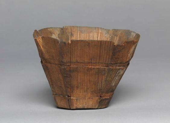 Cherche artefact XVe de gobelet à boire en bois Sans-t10